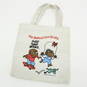 Vintage 1983 The Berenstain Bears Tote Book Bag
